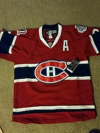 red, blue and white NHL jersey 49 km