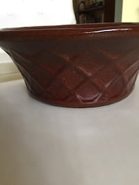 Vintage brown ceramic bowl Surfside, 33154
