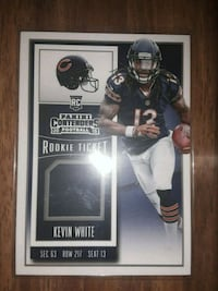 Kevin White number RTS KW, 2015  Radcliff, 40160