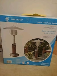 Table top patio heater Sioux Falls, 57107