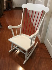 Rocking chair, solid wood, newly refinished  Surrey, V3S 5X6