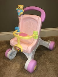 Fisher price stroll along walker Hedgesville, 25427