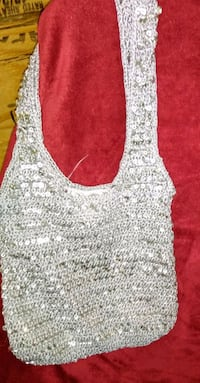 Silver sequined purse Tampa, 33613