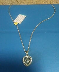 18 in chain with love charm Elizabeth, 07208