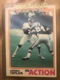 Lawrence Taylor rookie card Aberdeen, 21001
