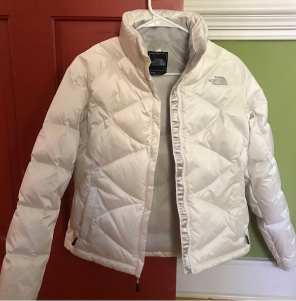 White S/P North Face 550 Down Jacket