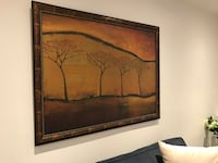 4-leafless trees painting