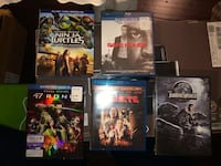 5 movies (blue ray and DVD) Arlington, 22202
