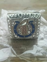 Replica Colts Championship Ring Anchorage, 99503
