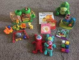 Baby / Toddler Educational Learning Toy Lot / Bundle