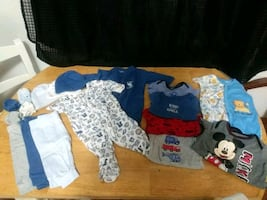 Newborn Baby Boy Clothing