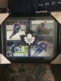 Toronto Maple Leafs framed picture. Bower, Clark, Gilmour and Sittler