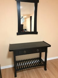 Real wood Furniture with matching mirror