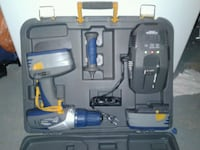 blue and black cordless power drill with case Calgary, T2V 1C5