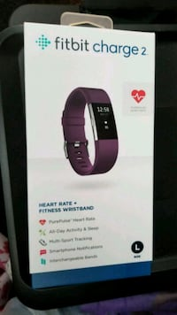 New Fitbit charge 2 purple/plum