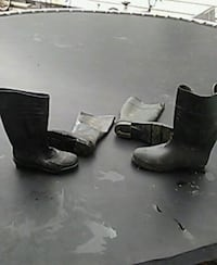 Bata made in USA size 8 and 1/2 and size 12 boots Chesapeake, 23325
