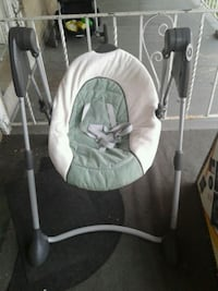 baby's white and gray swing chair Norristown, 19401