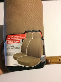 black and brown leather car seat Brantford, N3R 8A6