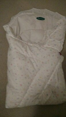 New born baby swaddle cotton insert