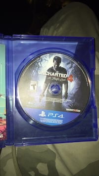 PS4 Uncharted 4 game disc Oroville, 95966