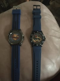 Superman watches never worn need batteries 15$ apiece or both for 25$ Massillon, 44646
