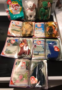 Vintage Collectables Ty Beanie Babies/ Mcdonald Toys Hagerstown, 21742