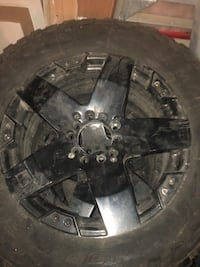 "5 spoke 21"" truck rims  Brampton, L6T"