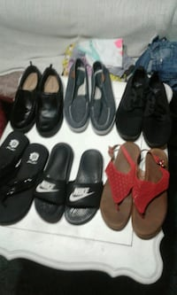 four pairs of assorted shoes Odessa, 79761