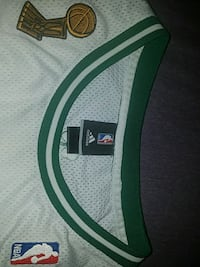 green and white Adidas shirt Surrey