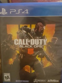 Sony PS4 Call of Duty black ops 4 El Paso, 79930