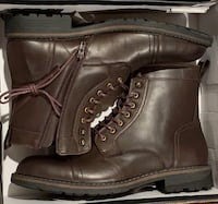 New Public Opion Brown boots size 12 Vaughan, L6A 4N9