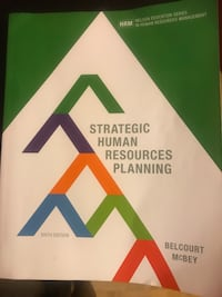 Strategic human resources planning book and management of occupational health and safety Toronto, M9W 1S4