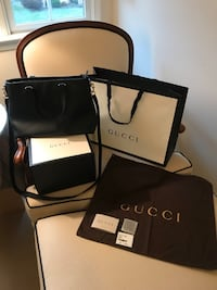 Gucci Handbag- Black- Dollar Calf Nero - Used Once With No Flaws Falls Church, 22046