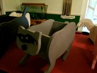 black and white rocking horse Harpers Ferry, 25425