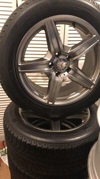 18 inch original rims and michelin winters Vaughan, L4L 3T4