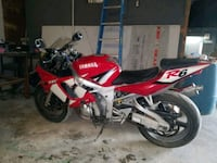 red Yamaha R6 sports bike Prairieville, 70769