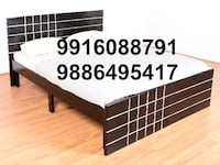 4x6feet double cot wooden made only at 4500 call  [TL_HIDDEN]  Kammanahalli