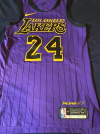 KOBE BRYANT Lore Series City Edition Authentic,NEW,Jersey,Size 40 Rare Suitland, 20746