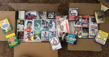 Couple thousand sports cards
