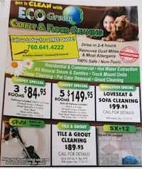 Carpet cleaning Cathedral City, 92234