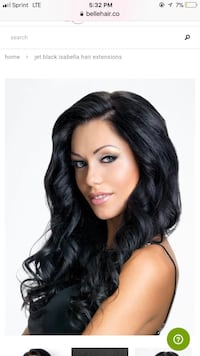Black hair extensions real hair North Highlands, 95660