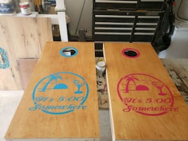 Made to Order Cornhole Boards ~ PERSON