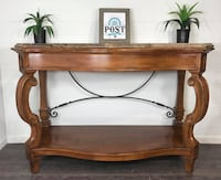 Stanley granite top entryway table  Canby, 97013