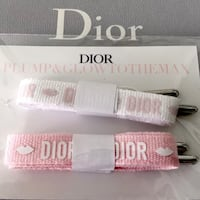 Christian Dior | Pink & White Shoe Laces | Limited Edition Mont-Royal, H4P 1J3