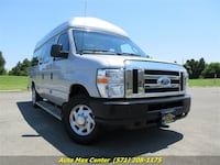 2014 Ford E-250 - Wheelchair Handicap Lift - Hightop - Extended
