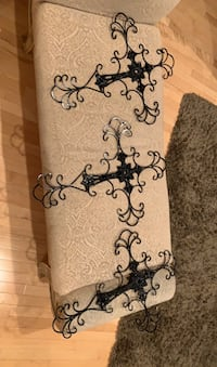 Extra large Wroth iron decor crosses. Edmonton, T6M 2J3