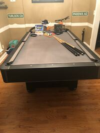 black and gray pool table Mount Holly, 28120