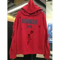 Givenchy rouge imprimé pull over jacket Saint-Aubin-de-Crétot, 76190