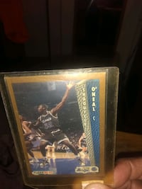 Shaquille o'Neal, Rookie card 703 mi