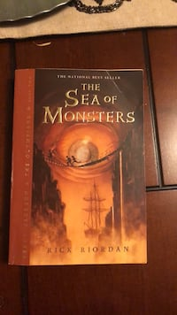 The sea of monsters book Houston, 77071